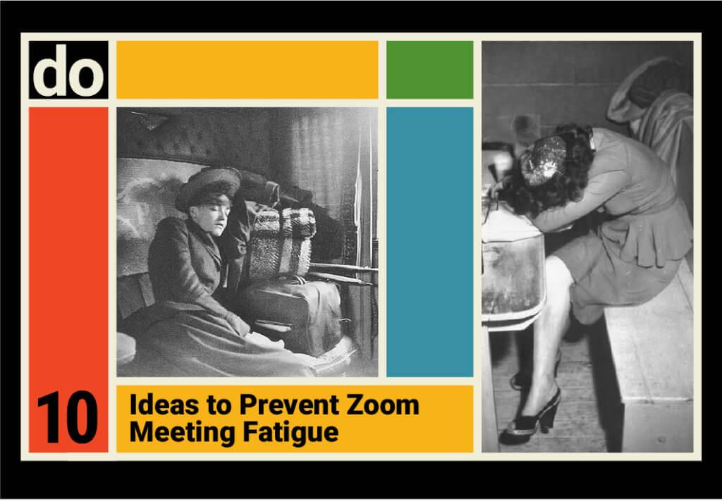 Zoom Meeting Fatigue