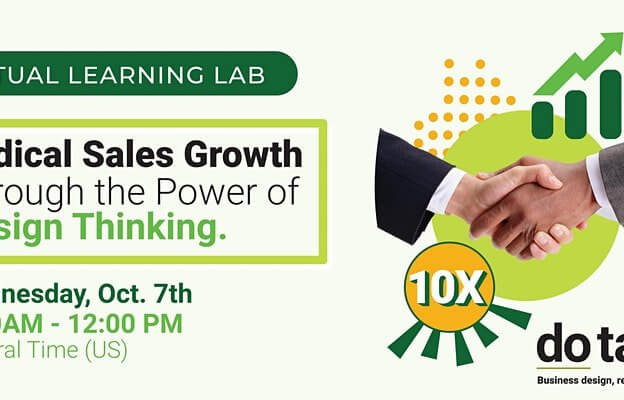 Radical Sales Growth through the Power of Design Thinking - October 7th 2020 course image